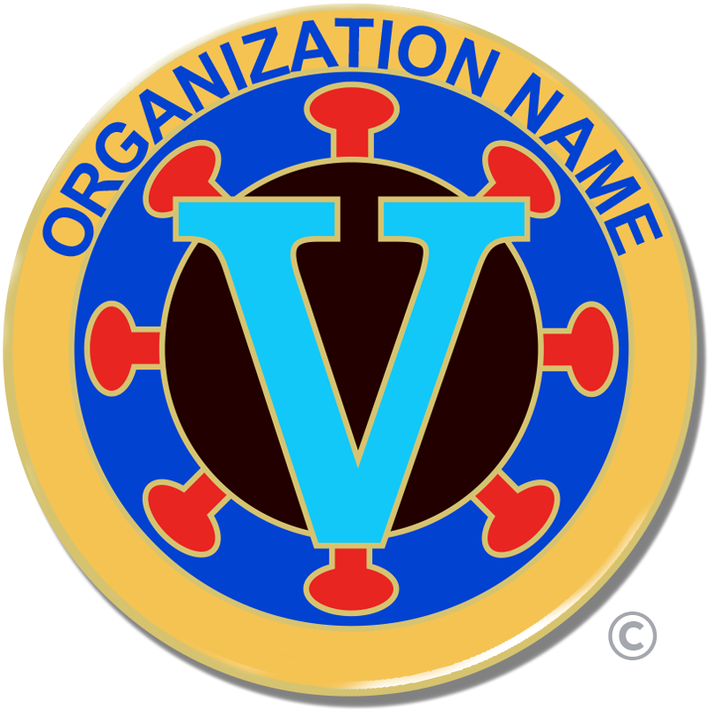 Vaccination Pin for Organizations
